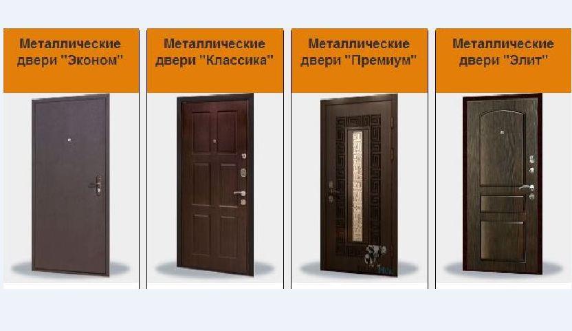 входных двери от производителя